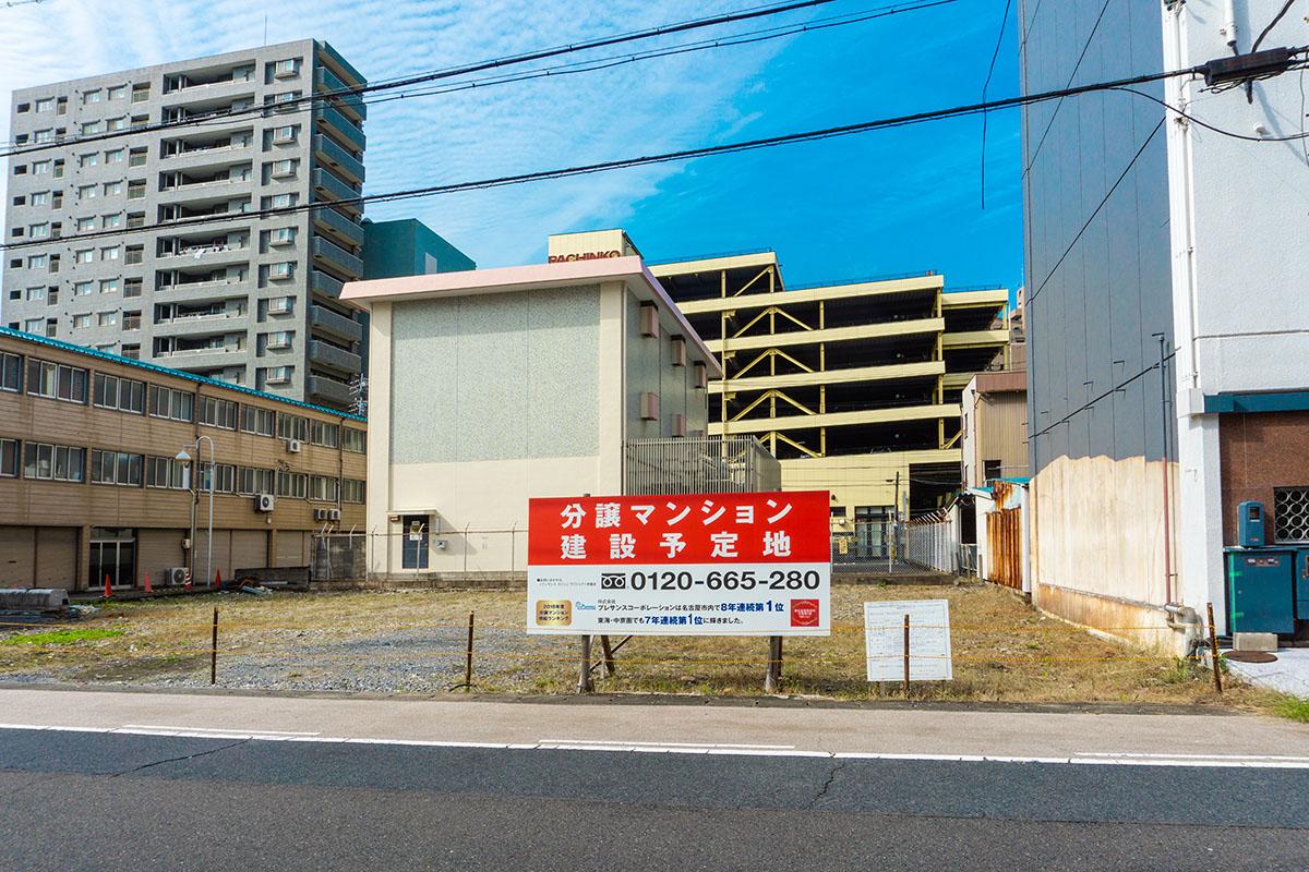 15階建て中高層マンションが新たに建築