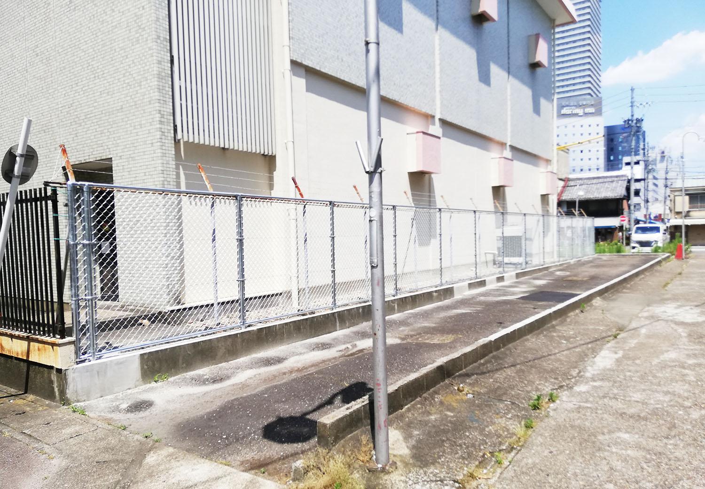 駅西銀座振興会の運営駐車場がリニューアル