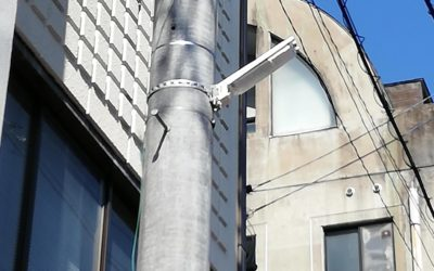 LED街路灯を追加設置